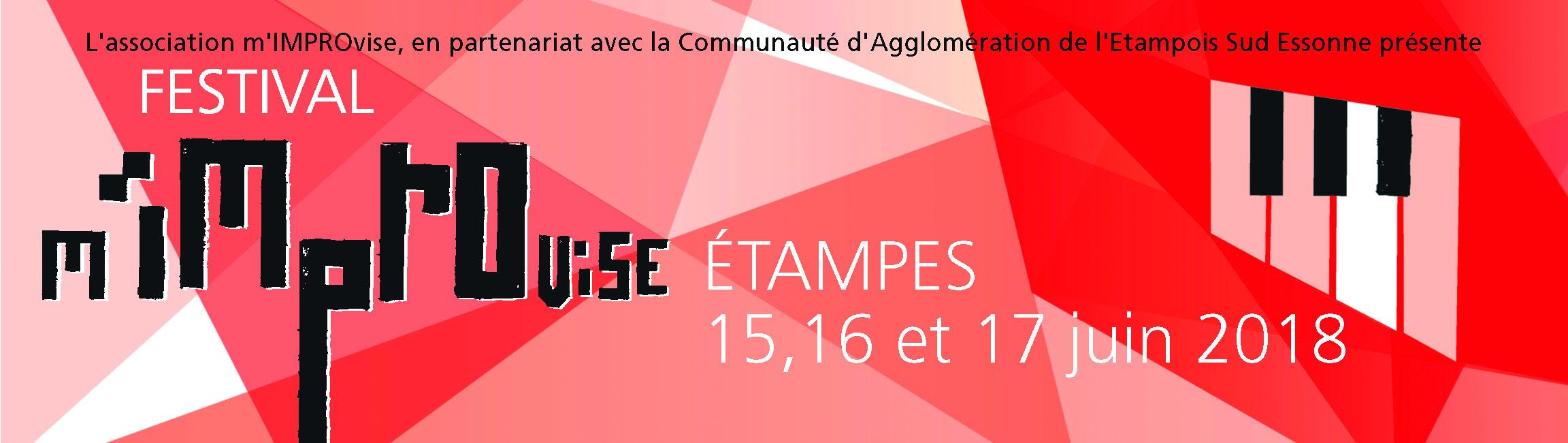 3e édition de m'IMPROvise // Théâtre Intercommunal d'Étampes